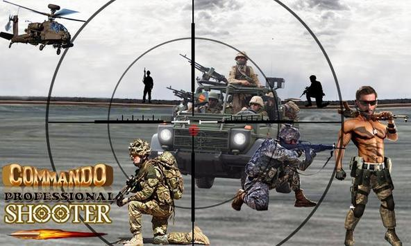 Commando Professional Shooter poster