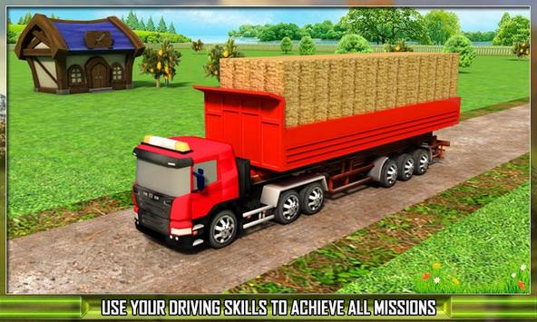 Farm Truck Silage Transporter poster