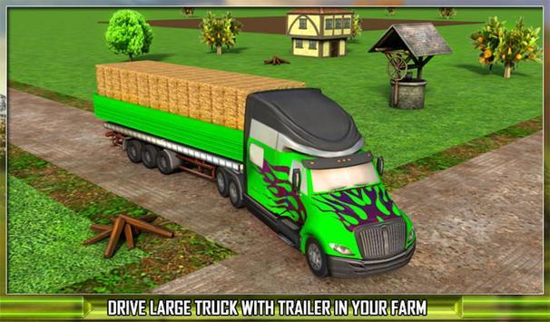 Farm Truck Silage Transporter apk screenshot
