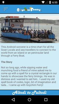 Goychim Ferry - Goa screenshot 6