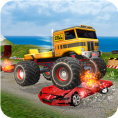 Monster Truck Tricky Stunt Race icon