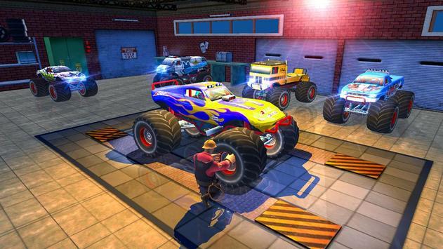 Monster Truck Tricky Stunt Race screenshot 12