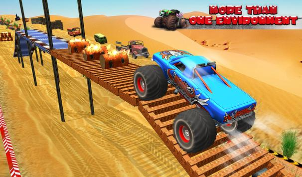 Monster Truck Tricky Stunt Race screenshot 13