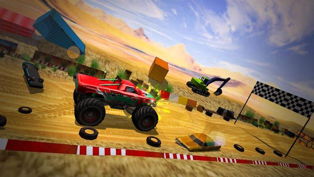 Monster Truck Tricky Stunt Race screenshot 15