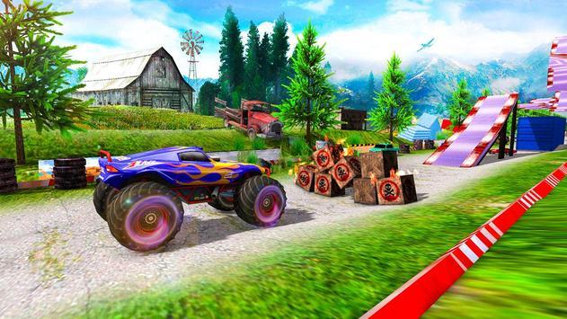 Monster Truck Tricky Stunt Race screenshot 16
