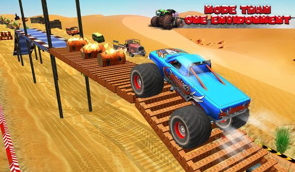 Monster Truck Tricky Stunt Race screenshot 1