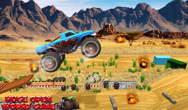 Monster Truck Tricky Stunt Race screenshot 5
