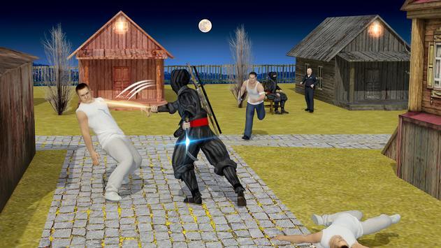 Ninja Assassin Fighting Shadow Survival Challenge screenshot 11