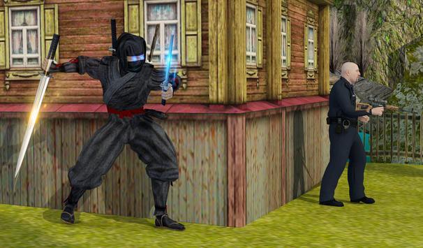 Ninja Assassin Fighting Shadow Survival Challenge screenshot 8