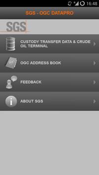 SGS OGC DataPro screenshot 3