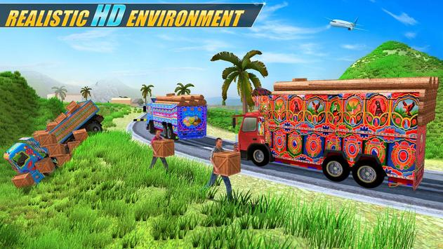 Indian Real Cargo Truck Driver screenshot 7