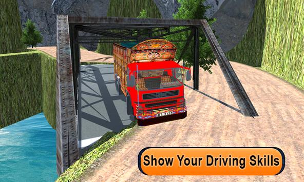Indian Real Cargo Truck Driver apk screenshot