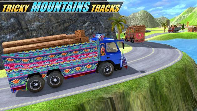 Indian Real Cargo Truck Driver screenshot 1