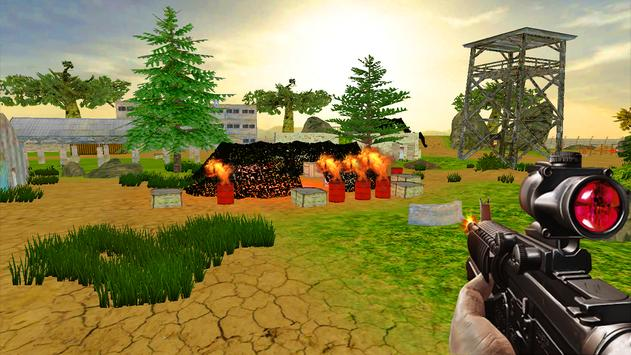 Army Shooting Sniper Forest Strike Attack War apk screenshot