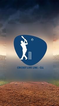 Cricket Live Line : CLL (Fastest App in The World) poster
