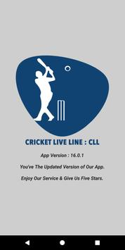 Cricket Live Line : CLL (Fastest App in The World) apk screenshot