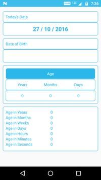 Age Calculator apk screenshot