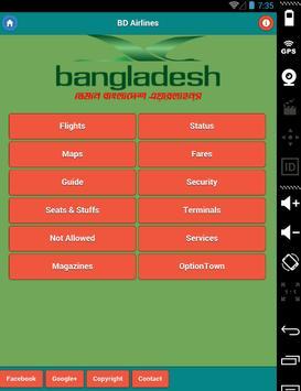 Bangladesh Airlines poster