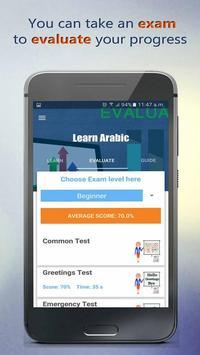 Learn Arabic apk screenshot