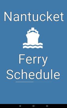 Nantucket Ferry Schedule apk screenshot