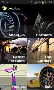 Auto Lab Showroom poster