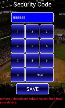 screen lock baseball pattern screenshot 4