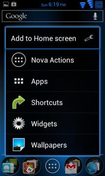 AOKP Plantet Android Blue Free screenshot 1