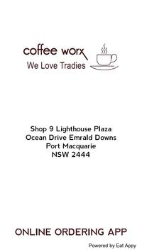 Coffee Worx @ Lighthouse Plaza poster