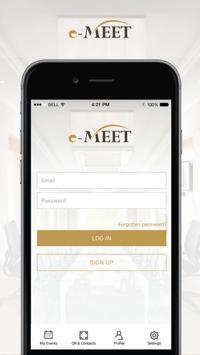 e-Meet poster