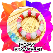 Easy bracelet tutorials icon