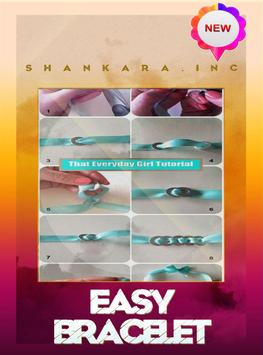 Easy bracelet tutorials poster