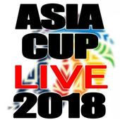 Asia Cup Live 2018 icon