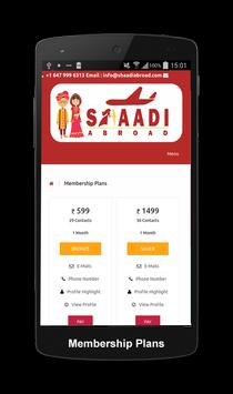 Shaadi Abroad Matrimonial screenshot 3