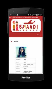 Shaadi Abroad Matrimonial screenshot 4