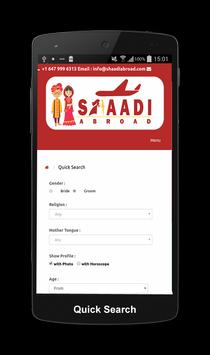 Shaadi Abroad Matrimonial screenshot 5
