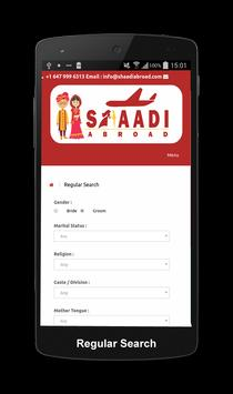 Shaadi Abroad Matrimonial screenshot 7