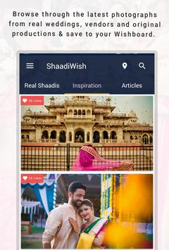 ShaadiWish screenshot 1