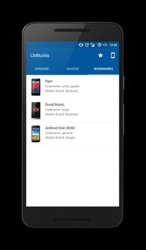 CMBuilds for Cyanogenmod apk screenshot