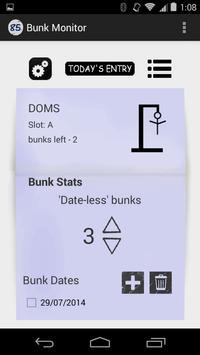 Bunk Monitor apk screenshot