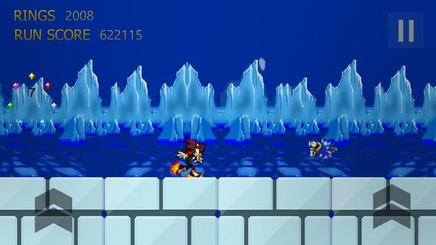 1 Schermata Shadow The Hedgehog Run