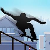 shadow vector skate icon