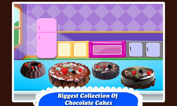 Black Forest Chocolate Cake Maker! Cooking Game screenshot 10
