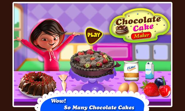 Black Forest Chocolate Cake Maker! Cooking Game screenshot 8