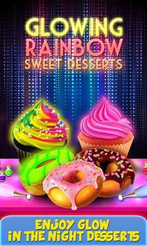 Glow In The Dark Foods! Neon Cupcakes & Glonuts poster