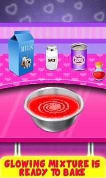 Glow In The Dark Foods! Neon Cupcakes & Glonuts screenshot 2