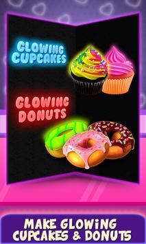 Glow In The Dark Foods! Neon Cupcakes & Glonuts screenshot 6