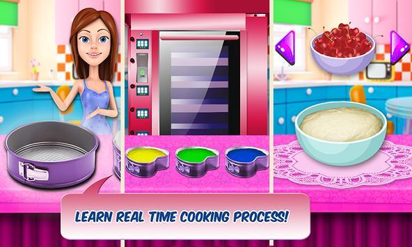 Rainbow Shortcake bakery Chef screenshot 8