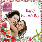 Mother's day frame icon
