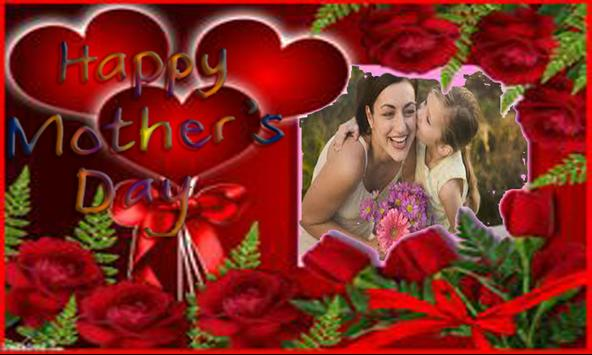 Mother's day frame poster