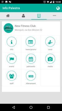 NEW FITNESS CLUB apk screenshot